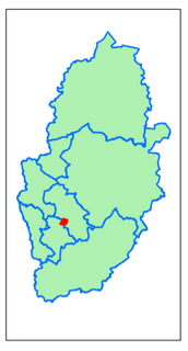 Gedling District Daybrook (Contains Ordnance Survey data (C) Crown Copyright & database rights May 2017 Nottinghamshire County Council)