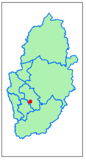 Gedling District Ernehale (Contains Ordnance Survey data (C) Crown Copyright & database rights May 2017 Nottinghamshire County Council)