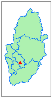 Gedling District Plains (Contains Ordnance Survey data (C) Crown Copyright & database rights May 2017 Nottinghamshire County Council)