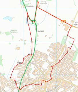 Redhill Ward Boundary (Contains Ordnance Survey data (C) Crown Copyright & database rights May 2017 Nottinghamshire County Council)