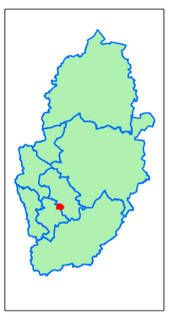 Gedling District Woodthorpe (Contains Ordnance Survey data (C) Crown Copyright & database rights May 2017 Nottinghamshire County Council)