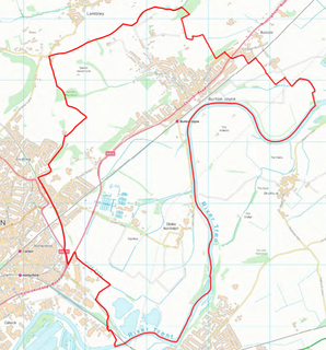 Trent Valley Ward Boundary (Contains Ordnance Survey data (C) Crown Copyright & database rights May 2017 Nottinghamshire County Council)