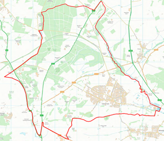 Calverton Ward Boundary (Contains Ordnance Survey data (C) Crown Copyright & database rights May 2017 Nottinghamshire County Council)