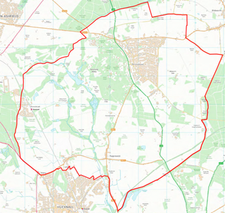 Newstead Abbey Ward Boundary (Contains Ordnance Survey data (C) Crown Copyright & database rights May 2017 Nottinghamshire County Council)