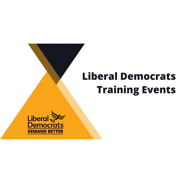 Lib Dem Training Events banner
